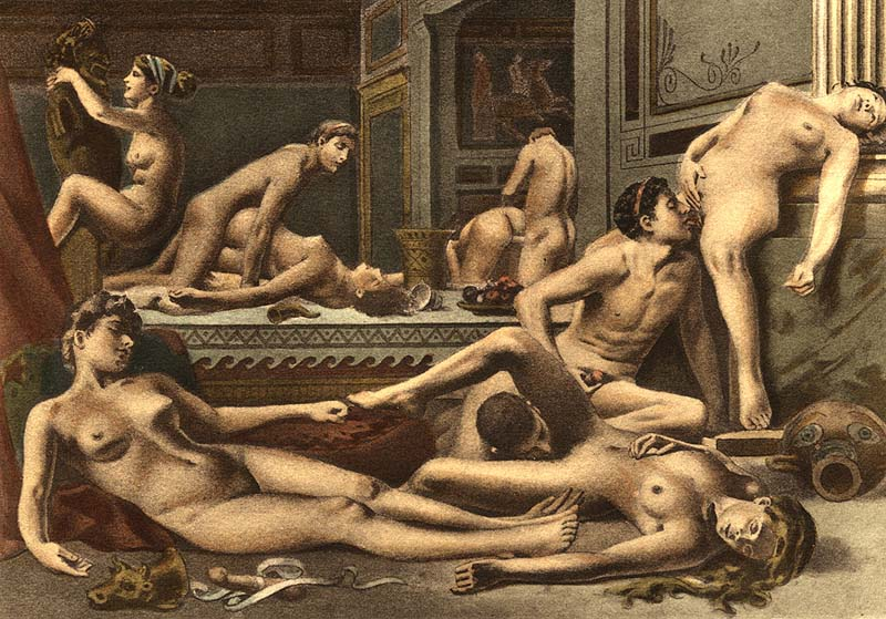 Ókori gruppen szex